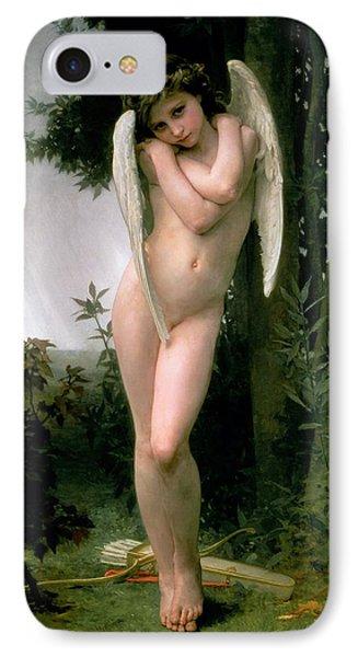 Cupidon IPhone Case by William Adolphe Bouguereau