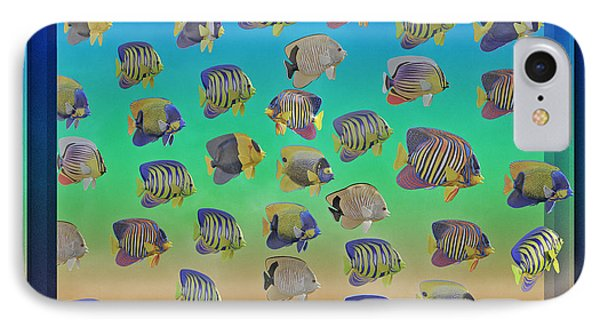 Curious Fish IPhone Case by Betsy Knapp