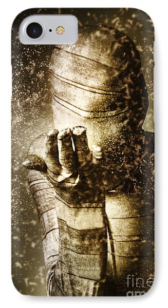 Curse Of The Mummy IPhone Case by Jorgo Photography - Wall Art Gallery