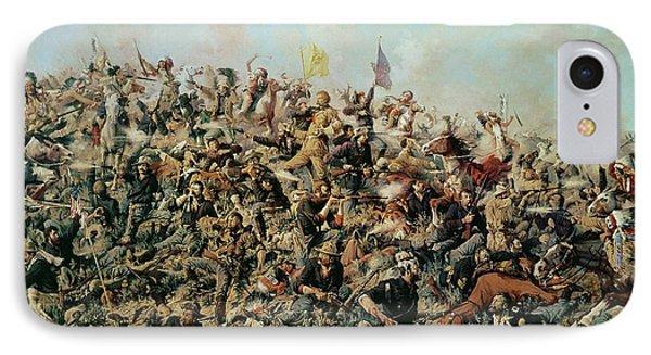 Custer's Last Stand IPhone Case by Edgar Samuel Paxson