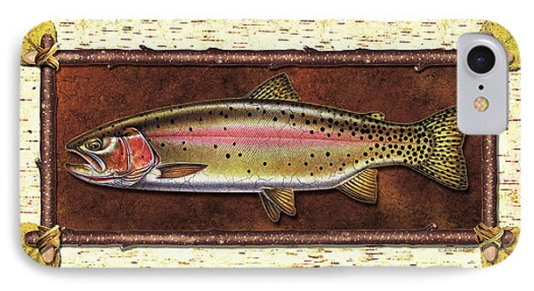 Cutthroat Trout Lodge IPhone Case by JQ Licensing