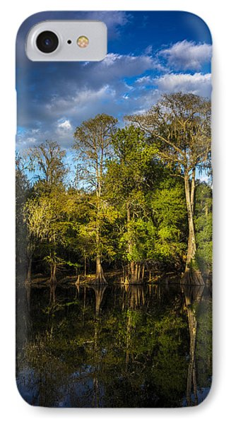 Cypress And Oaks IPhone Case by Marvin Spates