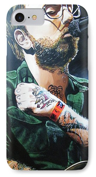 Dallas Green IPhone Case by Aaron Joseph Gutierrez