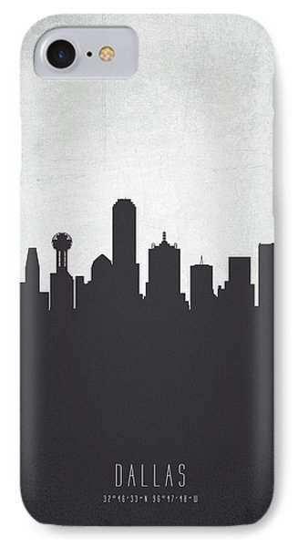 Dallas Texas Cityscape 19 IPhone 7 Case by Aged Pixel