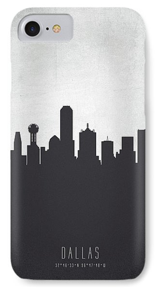 Dallas Texas Cityscape 19 IPhone Case by Aged Pixel