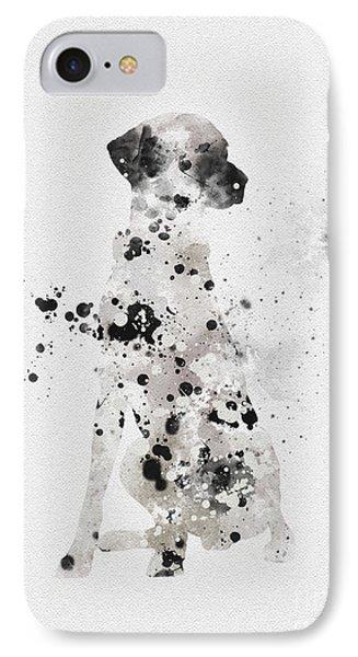 Dalmatian IPhone Case by Rebecca Jenkins