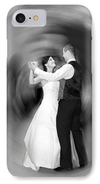 Dance Of Love Phone Case by Daniel Csoka