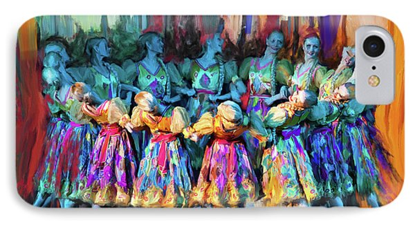 Dancer 263 2 IPhone Case by Mawra Tahreem