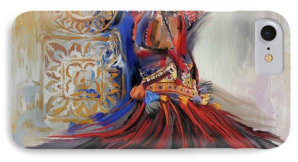 Dancer 265 1 IPhone Case by Mawra Tahreem
