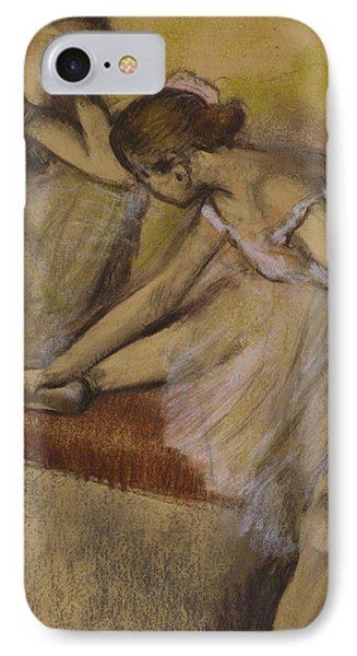 Dancers In Repose Phone Case by Edgar Degas