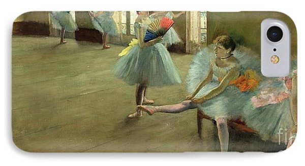 Dancers In The Classroom Phone Case by Edgar Degas