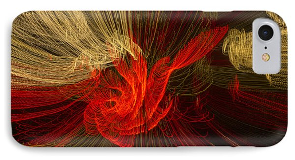 Dancing Lights 1 IPhone Case by Penny Lisowski