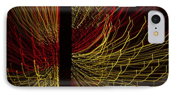 Dancing Lights 5  IPhone Case by Penny Lisowski