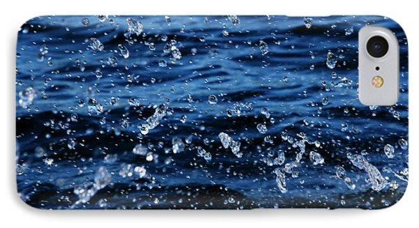Dancing Water Phone Case by Debbie Oppermann