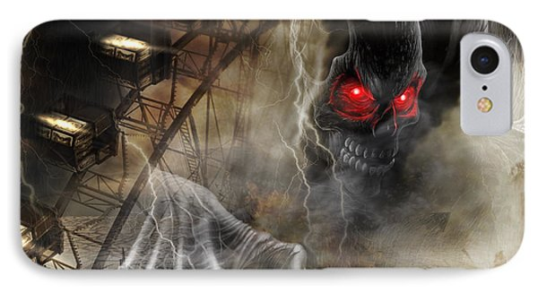 Dare To Ride IPhone Case by Stephen Smith