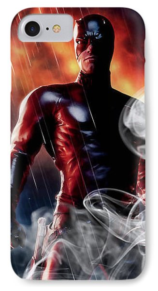 Daredevil Collection IPhone 7 Case by Marvin Blaine