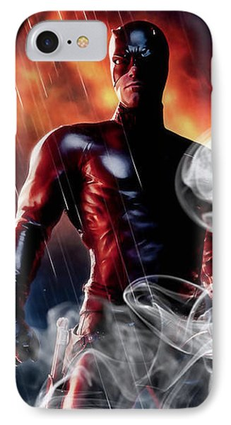 Daredevil Collection IPhone Case by Marvin Blaine