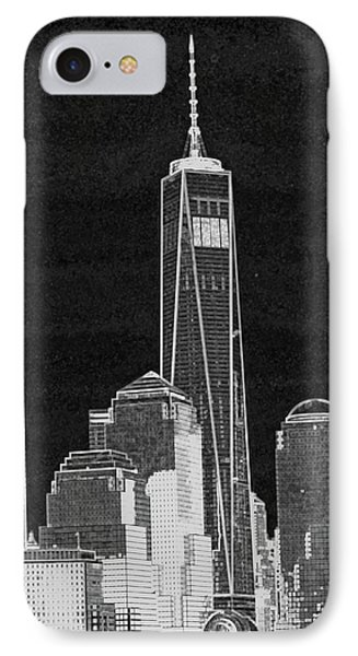 Dark Side Of The City IPhone 7 Case by Sandy Taylor