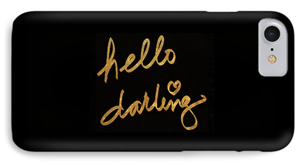Darling Bella I IPhone Case by South Social Studio