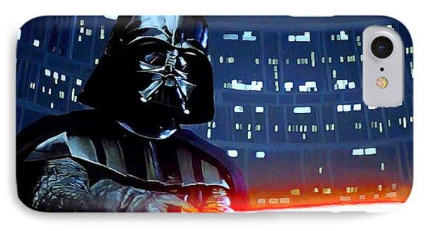 Darth Vader IPhone Case by Mitch Boyce