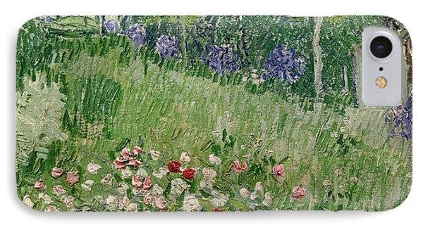 Daubigny's Garden IPhone Case by Vincent Van Gogh