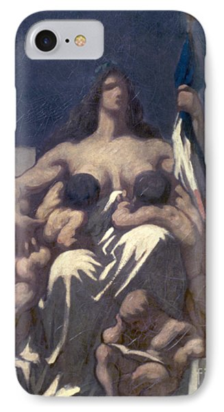 Daumier: Republic, 1848 Phone Case by Granger