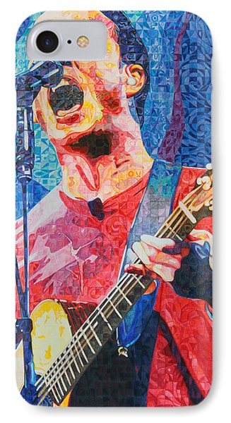 Dave Matthews Squared IPhone Case by Joshua Morton