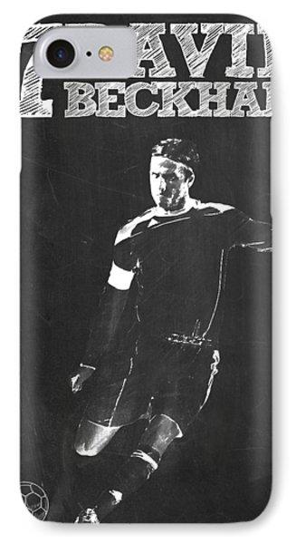 David Beckham IPhone Case by Semih Yurdabak