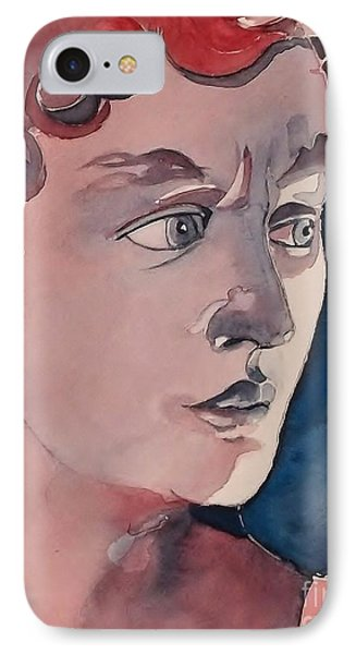 David IPhone Case by Lise PICHE