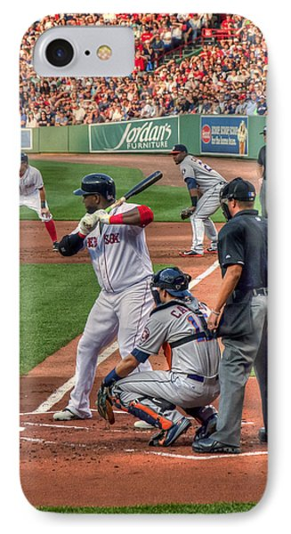 David Ortiz - Boston Red Sox  IPhone Case by Joann Vitali