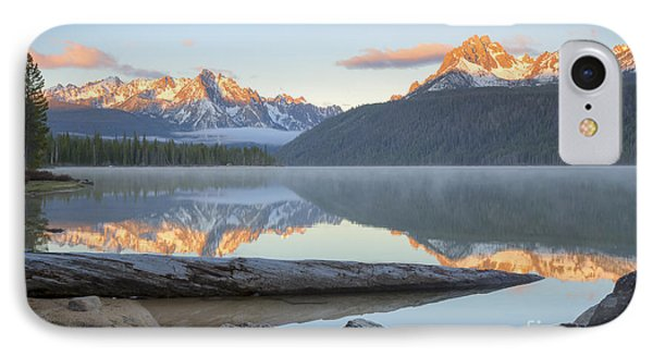 Dawn At Redfish IPhone Case by Idaho Scenic Images Linda Lantzy
