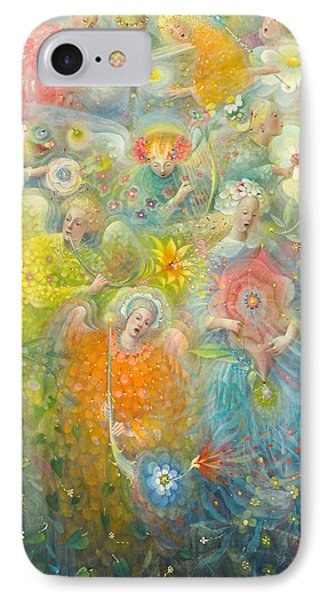 Daydream After The Music Of Max Reger IPhone 7 Case by Annael Anelia Pavlova