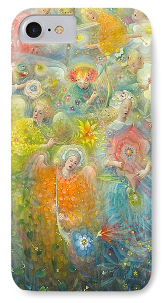 Daydream After The Music Of Max Reger IPhone Case by Annael Anelia Pavlova