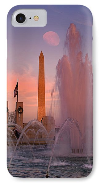 Dc Sunset IPhone Case by Betsy Knapp