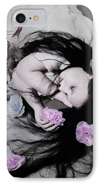 Dead Roses IPhone Case by Cambion Art