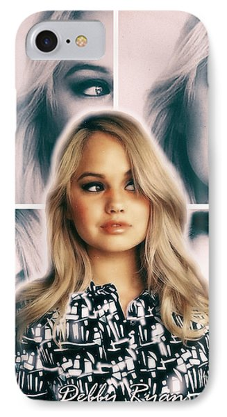 Debby Ryan - Model Of Beauty IPhone Case by Robert Radmore