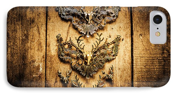 Decorative Moose Emblems IPhone Case by Jorgo Photography - Wall Art Gallery