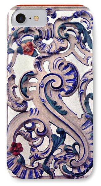 Decorative Panel In Schierstein Church 2 IPhone Case by Sarah Loft