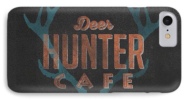 Deer Hunter Cafe IPhone 7 Case by Edward Fielding