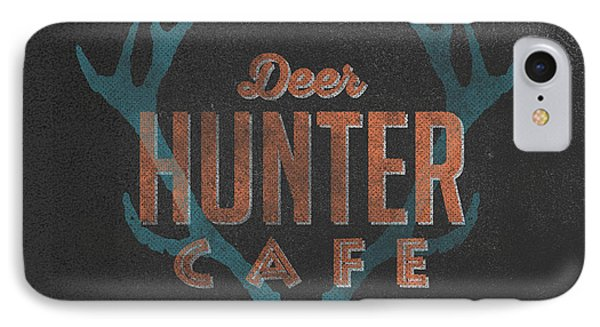 Deer Hunter Cafe IPhone Case by Edward Fielding
