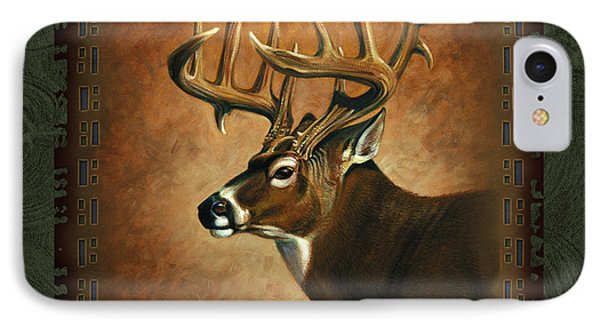 Deer Lodge IPhone Case by JQ Licensing