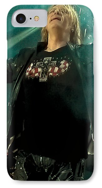 Def Lappard's Joe Elliott IPhone 7 Case by David Patterson