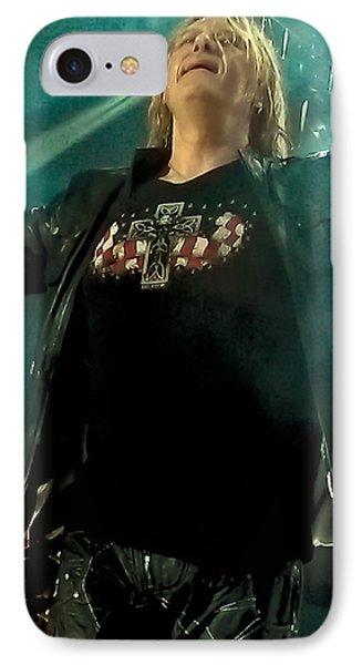 Def Lappard's Joe Elliott IPhone Case by David Patterson