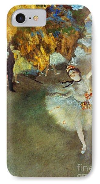 Degas: Star, 1876-77 IPhone Case by Granger