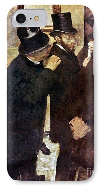 Degas: Stock Exchange Phone Case by Granger