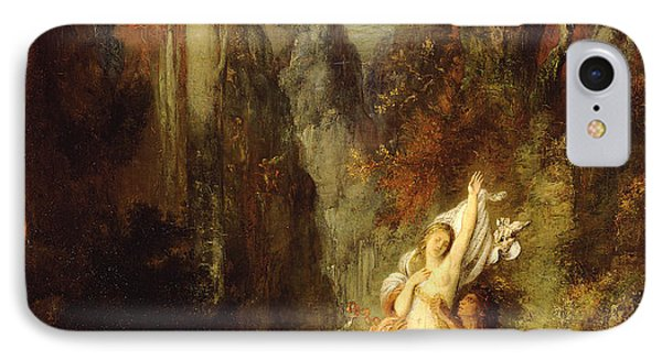Dejanira  Autumn IPhone Case by Gustave Moreau