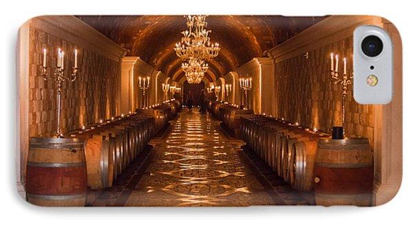 Del Dotto Wine Cellar Phone Case by Scott Campbell