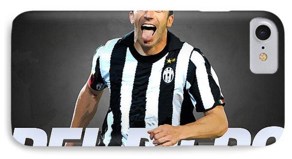 Del Piero IPhone 7 Case by Semih Yurdabak
