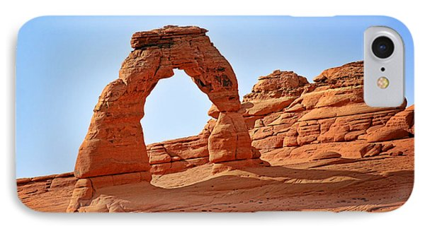 Delicate Arch The Arches National Park Utah Phone Case by Christine Till