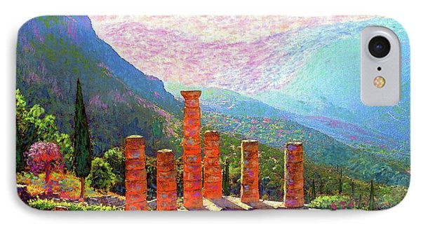 Delphi Magic IPhone Case by Jane Small